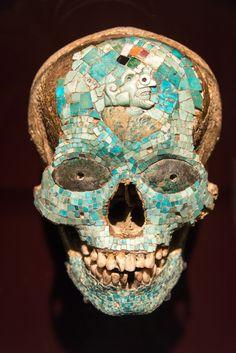 Mask of Xiutecuhlti, god of fire; 1325-1521 CE, Aztec-Mixtec, Mexico