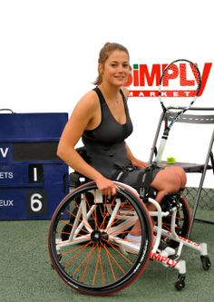Emmanuelle Mörch en tournoi.>>> See it. Believe it. Do it. Watch thousands of spinal cord injury videos at SPINALpedia.com