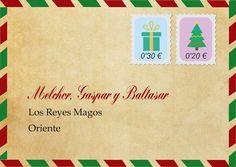 Condesa Patitiesa: sobre descargable para carta a los Reyes Magos