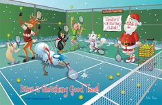 tennis at christmas - Google Search