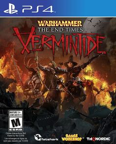 Warhammer: End Times - Vermintide For PlayStation 4 (Physical Disc)