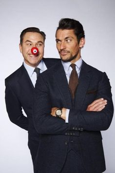 David Gandy @DGandyOfficial  ·  7h 7 hours ago Just sorted out who stole my red nose!  @davidwalliams @rednoseday @comicrelief #RND15