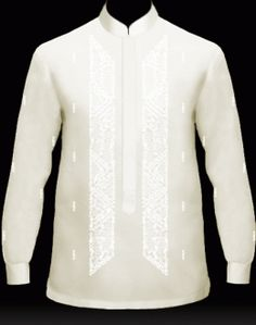 Creating some barongs for Pops & the Boy: My Barong, Men's Barong Tagalog… Barong Tagalog Wedding, Barong Wedding, Wedding Men, Wedding Attire, Wedding List, Wedding Ideas, Groom Attire, Groom And Groomsmen, Debut Dresses