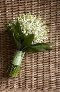 Lily Of The Valley Bridesmaid Bouquet