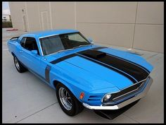 S205 1970 Ford Mustang Boss 302 Fastback 302 CI, 4-Speed Photo 1