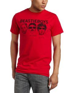 FEA Merchandising Men`s Beastie Boys 3 Heads and Logo Lightweight Tee $19.00