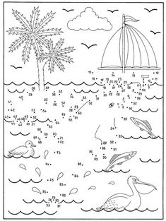 2 Dot to Dot Worksheet 1 100 Yhdistä 100 1 √ Dot to Dot Worksheet 1 100 . 2 Dot to Dot Worksheet 1 100 . Undersea Dot to Dot Coloring Pages for Kids Connect the in Math Coloring Worksheets, Printable Math Worksheets, Worksheets For Kids, Printable Coloring, Olli Und Molli, Dot To Dot Printables, Math Books, Connect The Dots, Activity Sheets