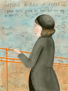 Missed Connections: Hasidic Woman on Ferry