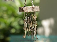 Decoración | Jardineras | Carrillón con llave | Utilisima.com