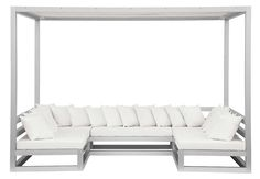 sectional with sun shade