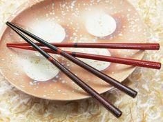 Kaen Wajimanuri Shukusai Ayanami couple of chopsticks with Paulownia Box (two pairs)