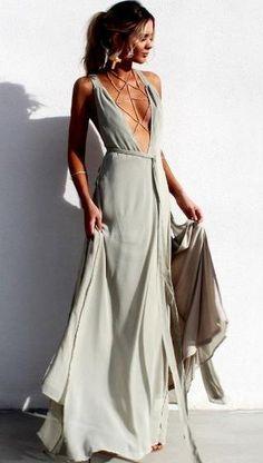 pretty flowy maxi dress.