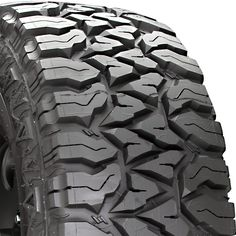 Dunlop Fierce Attitude Off-road tires. Try to get stuck with these on your truck! Make sure you rotate them regularly and they'll last a long time!