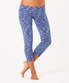 This Turquoise Yoga Pants is perfect! #zulilyfinds