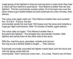 The Best Story about the U.S. Marines Fighting the Islamic State (ISIS)! - Headline Politics