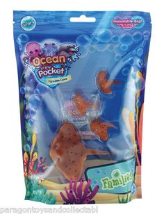 Ocean in My Pocket Paradise Cove Stingray Mums and Babies Family | eBay (worldwide)