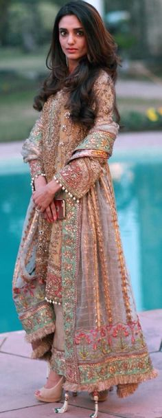Fantastic embroidery and beading