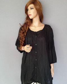 Zizzi luftig tunika svart storlek M (46/48) - #99kr AUKTION!  http://ift.tt/1ZPGRhh  #tradera #traderafynd #zizzi #damkläder #fynda #loppis #märkesbloppis #loppisfynd #bloppis #säljes #kläder