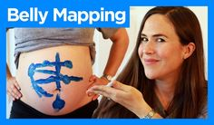 Belly mapping - shows how to understand the position of your baby. Her YouTube channel has other great pregnancy videos too.
