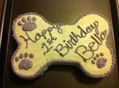 All natural homemade dog birthday cake. We love our babies so much we'll bake them a cake. Dog Cake Recipes, Dog Treat Recipes, Dog Food Recipes, First Birthday Cakes, Dog Birthday, Dog Bakery, Puppy Treats, Homemade Dog Treats, Diy Stuffed Animals