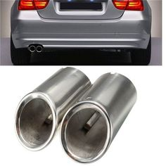 2Pcs Muffler Exhaust Tail  Tip Chrome for BMW E90 E92 325 3 Series 06-10. 2pcs Muffler Exhaust Tail Pipe Tip Chrome For Bmw E90 E92 325 3 Series 06-10    condition:    -fashion Design Style , A Great Accessory To Dress Up Your Rides.  -chrome Muffler Exhaust Tail Pipe For Bmw 325i 328i.  -a Perfect Aftermarket Replacement.  -durable,no Rust,stainless Steel.  -professional Installation.( Instruction Is Not Included)    specification:    -type: Exhaust Tips  -material:stainless Steel…