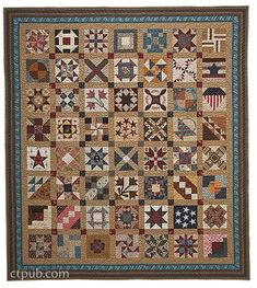 Barbara Brackman –– The Civil War era.chronicled by quilters' hands This remarkable book features fifty quilt blocks to commemorate the anniversary of the Civil War, some of which were present Old Quilts, Antique Quilts, Barn Quilts, Small Quilts, Mini Quilts, Vintage Quilts, Vintage Sewing, Primitive Quilts, House Quilts