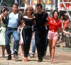 *GREASE ~ John Travolta & Olivia Newton-John