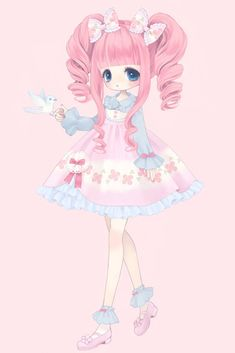 Anime - sweet girl kawaii -