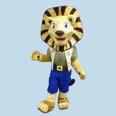 Folly Lion #lion #mascot #costume