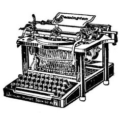 Free Vintage Clip Art - Typewriters - The Graphics Fairy
