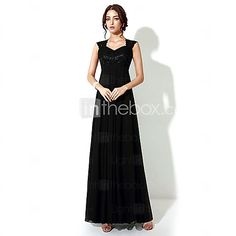 Formal+Evening+Dress+A-line+Floor-length+with+Embroidery+-+USD+$49.99