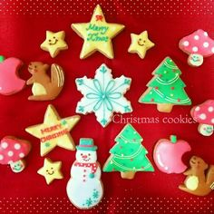 2014クリスマスアイシングクッキー☆   ペコリ by Ameba - 手作り料理写真と簡単レシピでつながるコミュニティ -