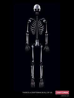 Craftsman: Skeleton | Ads of the World™