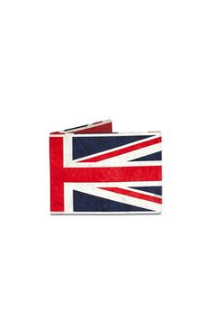 """Emblazoned with the Union Jack flag this Mighty Wallet is an international hit. The origami construction built of Tyvek (think express mail envelopes) it's built to last. Tear-resistant water-resistant expandable and recyclable these wallets have incredible strength. Great gift too! 2 large pockets for cash and receipts. 2 credit card pockets that expand to hold lots of cards  . Open - 8"""" w x 3.25"""" h x .125"""" d  0.6 oz  Union Jack Wallet by Shady And Katie. Bags - Wallets & Wristlets Naples…"""