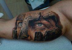 3 warrior tattoo