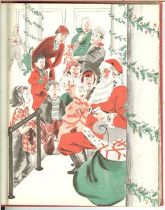 Vintage 1950 The Real Santa Claus Book by MuddyRiverAntiques, $25.00