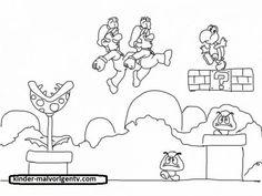 22 Best Mario Ausmalbilder Images In 2019 Coloring Books