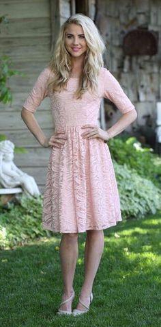 Samantha Dress In Pink.
