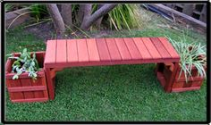 Bench / Planter for your yard