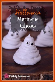 Too cute to spook, this Meringue Ghost Recipe will be a huge hit at your Halloween bash. Learn how to make them here!