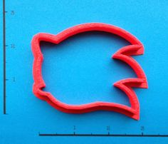 Sonic the Hedgehog Cookie Cutter by WarpZone on Etsy, $3.50