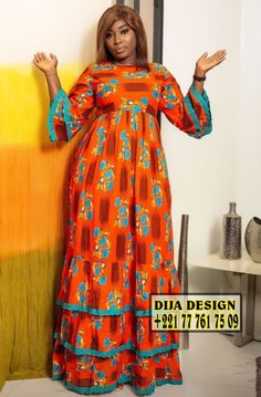 African Maxi Dresses, Ankara Skirt And Blouse, Latest African Fashion Dresses, Ankara Dress, African Print Fashion, African Fashion Designers, African Wear, Wax, Dresses With Sleeves