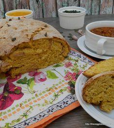 Ψωμί με κολοκύθα - Butternut squash bread Butternut Squash Bread, Muffins, Vegan Recipes, Vegetarian, Favorite Recipes, Healthy, Ethnic Recipes, Breads, Food
