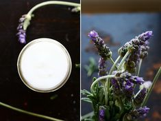 simple homemade lotion    *3/4 c. coconut oil, (I used organic unrefined extra virgin coconut oil, but you could substitute with olive oil, grapeseed oil, or avocado oil)    *1 c. filtered water    *3 Tbsp grated bees wax (~ 1/4 oz)    *10-15 drops essential oil of your choice