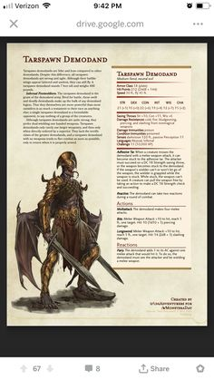 No photo description available. Dungeons And Dragons Board, Dungeons And Dragons Classes, Dnd Dragons, Dungeons And Dragons Characters, Dungeons And Dragons Homebrew, Dnd Characters, Mythological Creatures, Fantasy Creatures, Mythical Creatures