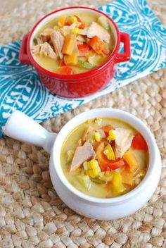 Packed with vegetables, this Salmon Corn Chowder is a light, refreshing summer soup that is perfect for lunch or dinner. Full of healthy fats and flavor.