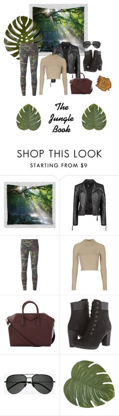 """""""The Jungle Book"""" by nikkimarc226 ❤ liked on Polyvore featuring Boohoo, Faith Connexion, Topshop, Givenchy, Timberland, Yves Saint Laurent, Pier 1 Imports and Two's Company"""