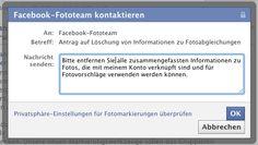 Mail an Facebook