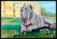 Neapolitan Mastiff Doormat