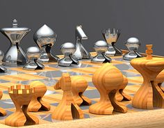 """Check out this @Behance project: """"Ajedrez/Chess PERSA""""…"""